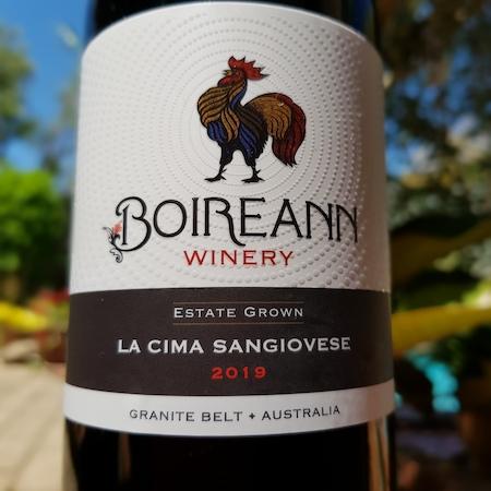 Boireann Winery 2019 Sangiovese