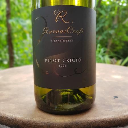 Ravens Croft Wines 2021 Pinot Grigio