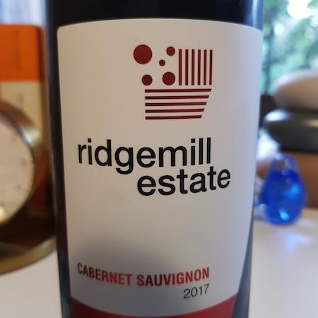 Ridgemill Estate 2017 Cabernet Sauvignon