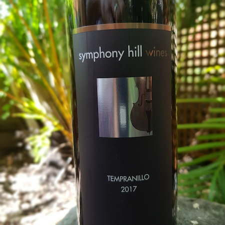 Symphony Hill Wines 2017 Tempranillo