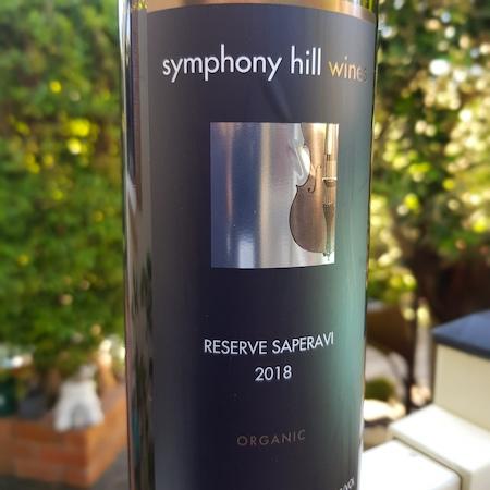 Symphony Hill Wines 2018 Reserve Saperavi