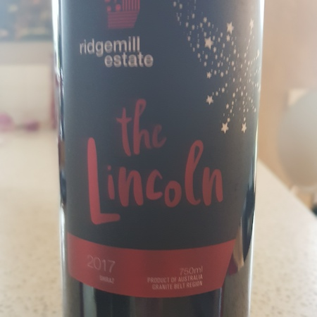 "Ridgemill Estate 2017 ""Lincoln"" Shiraz"