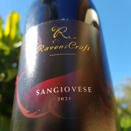 Ravens Croft Wines 2021 Sangiovese
