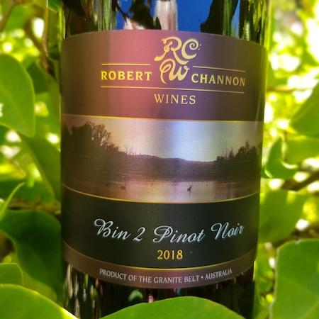 Robert Channon Wines 2018 Bin 2 Reserve Pinot Noir